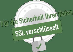 Verschlüsselt mit SSL
