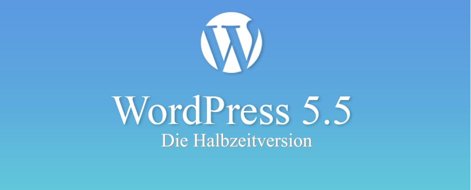WordPress Version 5.5